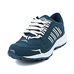 Asian Shoes FUTURE 11 Navy White Shoes 8 UK/Indian