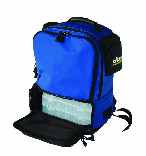 Okuma Tackle Backpack 4 Tray Waterproof Bag