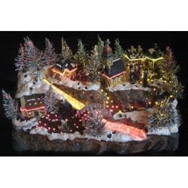 Fiber optic christmas village - Lookup BeforeBuying