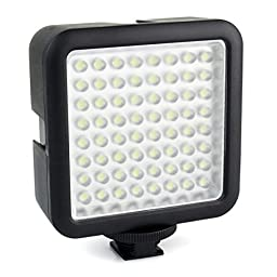 HM-ANT Led64 Video Light Professional Universal for Macrophotography Photo