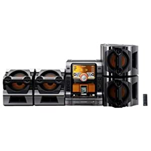 Sony LBT-ZX99i 5-Disc CD Changer Mini Shelf System with Play Exchange