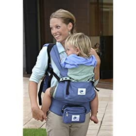 Ergo Baby Carrier ~ Blue/Green