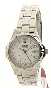 Ladies Swiss Military Stainless Steel Bracelet Watch