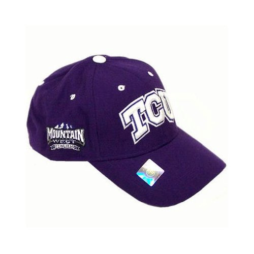NCAA Triple Conference Adjustable Hat NCAA Team: TCU at Amazon.com