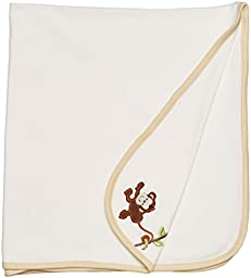 Little Me Baby Boys Tag Along Blanket One Size (Cream)