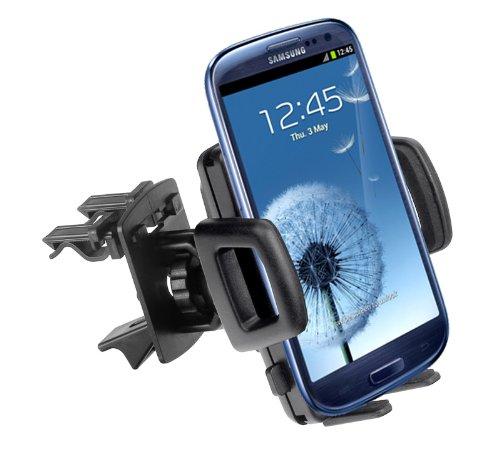 Yayago - Supporto da auto per Samsung Galaxy S3 i9300 / Galaxy S4 i9500 / S3 LTE i9305 / S3 Mini i8190 / Galaxy Note 2 N7100 / Note 3 / HTC One compatibile anche con altri dispositivi
