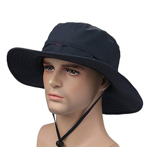 Home prefer unisex anti uv quick dry sun hat mesh fishing for Home prefer hats