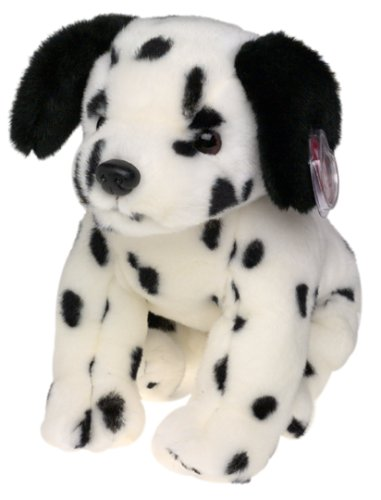 1 X TY Beanie Buddy - DOTTY the Dalmatian Dog