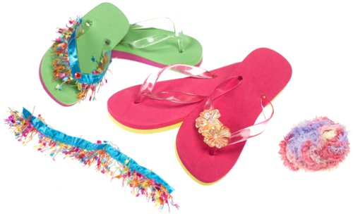 Comfy Chic Flip Flops front-673056