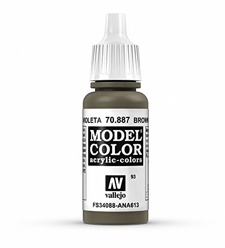 Vallejo Acrylic Paint, Brown Violet - 1