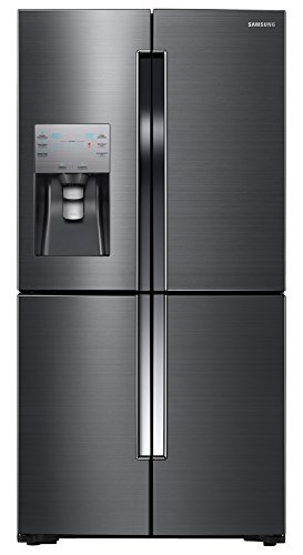 "Samsung Appliance RF23J9011SG 36"" Counter-Depth 4-Door Flex French Door Refrigerator Energy Star Qualified in Black Stainless Steel"