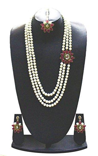 Zaveri Pearls Designer Necklace Set For Women - ZPFK675
