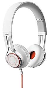 Jabra Revo On-Ear-Kopfhörer (3,5-mm-Klinkenanschluss, Freisprechfunktion) weiß