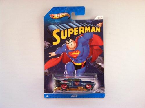 Hot Wheels 2013 Kroger Exclusive Superman Jaded Dark Blue #06/06