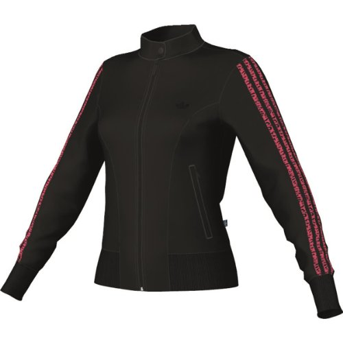 adidas Damen Jacke Supergirl Graphic, Black, 42, G86438