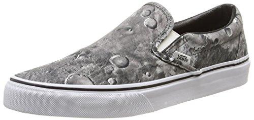 Vans U Classic Slip-On Moon, Sneakers, Unisex, Grigio (Moon/Pewter/True White), 42