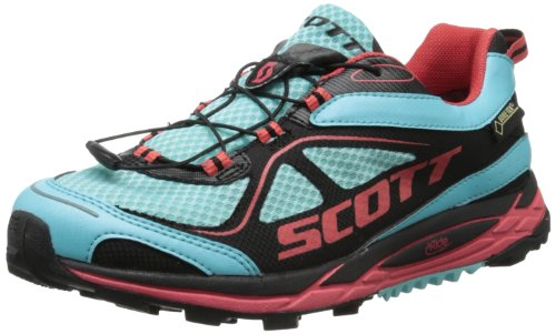Scott Running Women'S Eride Nakoa Trail Gtx Womens Walking Shoe,Blue/Red,7 C Us front-1070221