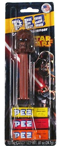 Pez Candy & Dispenser 2013 Chewbaca Star Wars Collectible - 1