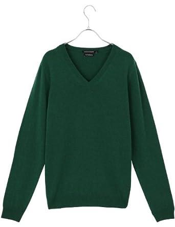 monoprix homme pull col v en cachemire homme taille xl couleur vert. Black Bedroom Furniture Sets. Home Design Ideas