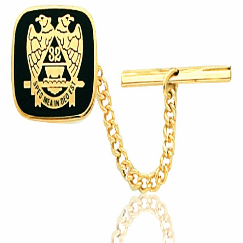 Masonic Tie Tac Yellow Gold