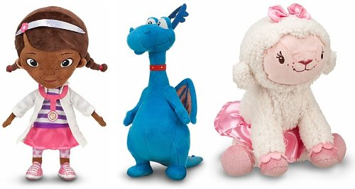 Disney Store/Disney Jr. Doc Mcstuffins Plush Doll Gift Set Including Doc Mcstuffins, Stuffy And Lambie Stuffed Animal Toys front-1033012