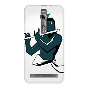 krishna Abstract Back Case Cover for Asus Zenfone 2