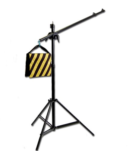 CowboyStudio Photography Video Studio Premium Pro Boom Set W501 with Light Stand, Boom & Weight Bag
