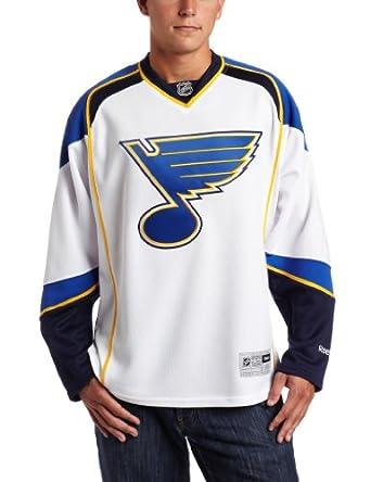 Amazon NHL St Louis Blues Premier Jersey White X