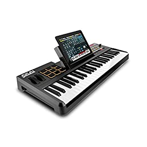 akai professional synthstation 49 49 note keyboard controller with drum pads and doc. Black Bedroom Furniture Sets. Home Design Ideas
