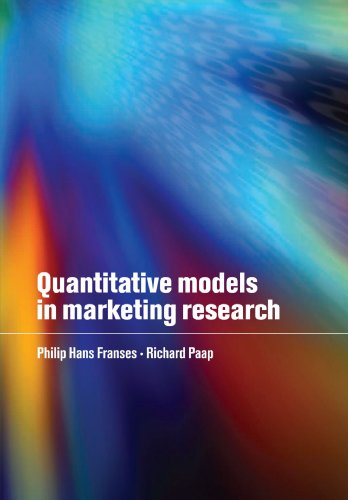 Modelos cuantitativos en Marketing Research