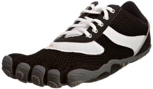 Vibram FiveFingers Men's Speed Black/White/Black Trainer 5F/M368BB-47 11.5 UK