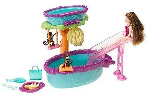 polly pocket water slide