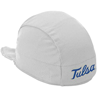 NCAA Tulsa Golden Hurricane High Performance Shorty Beanie, White by Headsweats