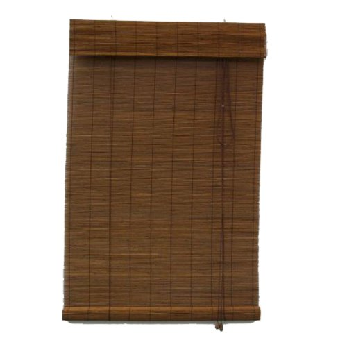 Sale Lewis Hyman 0215227 Pecan Havana Bamboo Roman Shade