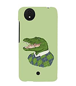 printtech Crocodile Face Sweater Back Case Cover for Micromax Android A1 / Micromax Canvas A1 AQ4502