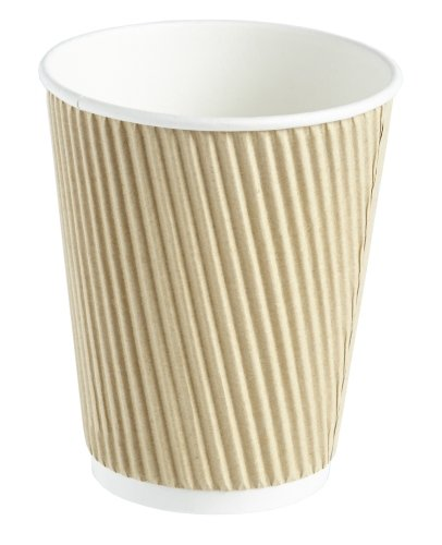 50-x-kraft-12-ounce-ripple-3-ply-disposable-insulated-paper-cups-for-tea-coffee-cappuccino-hot-drink