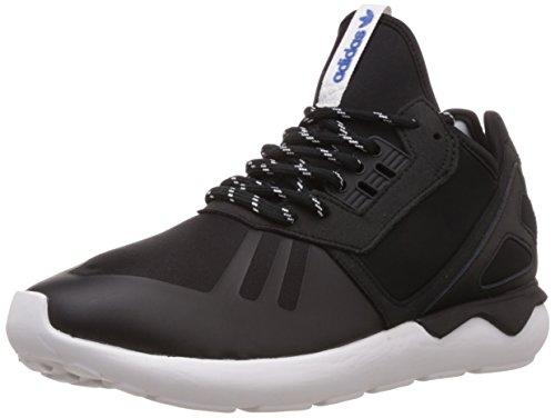 Adidas Tubular Runner Scarpe Low-Top, Uomo, Multicolore (Cblack/Cblack/Ftwwht), 42 2/3