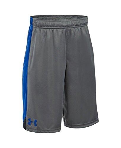 Under Armour Boys' Eliminator Shorts, Graphite/Black, Youth Large
