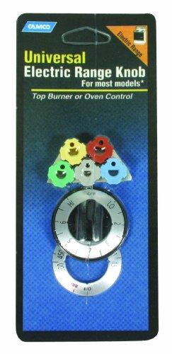 Camco 00913 Electric Oven Range Knob Burner (Black)