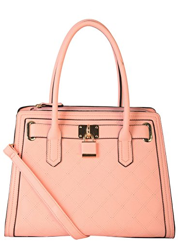 diophy-pu-leather-saffiano-front-lock-decoration-charms-satchel-handbags-sz-3049-pink
