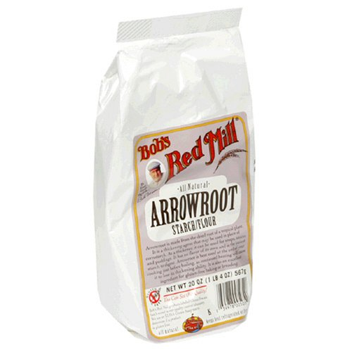 Bob's Red Mill Arrowroot Starch Flour, 20-Ounce Packages (Pack of 4)