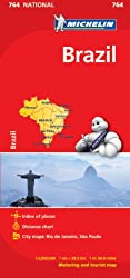 Michelin Map Brazil 764