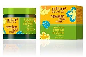 Alba Botanica Hawaiian, Papaya Enzyme Facial Mask, 3 Ounce (Pack of 2)