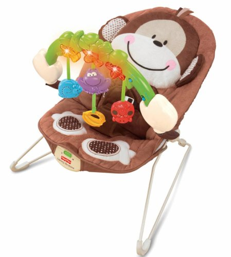 Fisher-Price Monkeyin  Around Musical Lightweight Bouncer