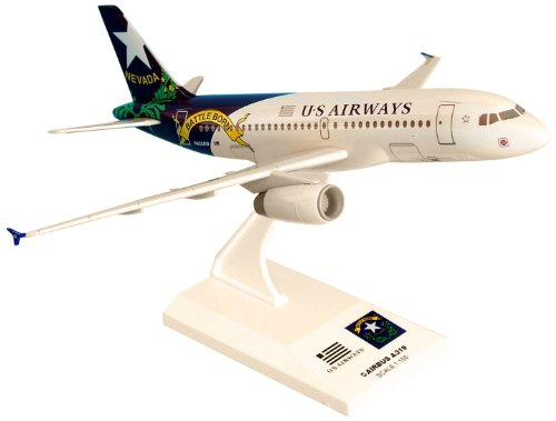 Daron Skymarks US Airways A319 Nevada Airplane Model Building Kit, 1/150-Scale (Us Airways Model Airplane compare prices)