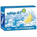 United Brands CO2 Soda Chargers, Single Box of 10