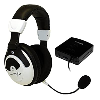 Turtle Beach Ear Force X31 Wireless Stereo Gaming Headphones w/Boom Microphone & Inline Volume Control for Xbox 360 (Certified Refurbished)