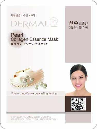 Look Younger Pearl Collagen Essence Mask (5Pack)