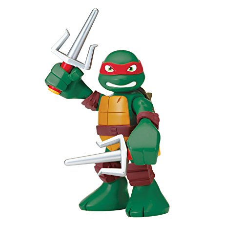 Teenage Mutant Ninja Turtles Pre-Cool Half Shell Heroes 6 Inch Raphael Talking Turtles Figure - 1