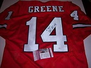 David Greene Georgia Bulldogs,go Dawgs Jsa coa Signed Jersey - Autographed College... by Sports+Memorabilia